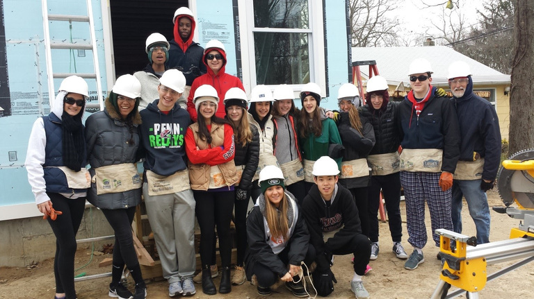 FA students volunteer over 300 hours to Habitat
