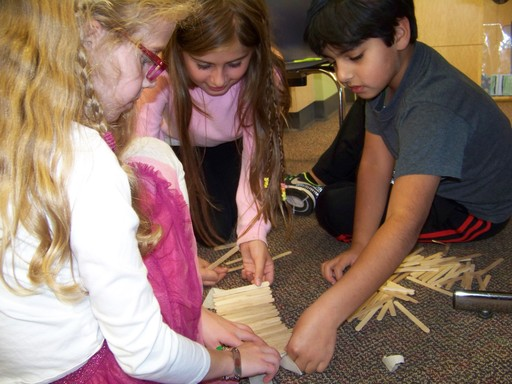 In Design Challenges, Lower schoolers collaborate, brainstorm and create