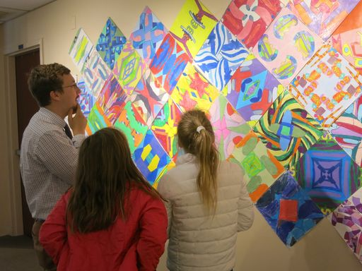 Lower School Spring Art show delights and amazes