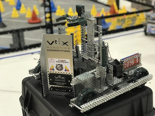 Upper School Robotics team wins two tournaments