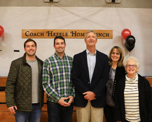 Longtime FA Basketball Coach Steve Hefele honored