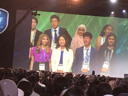 Senior places 3rd in Intel Science Fair