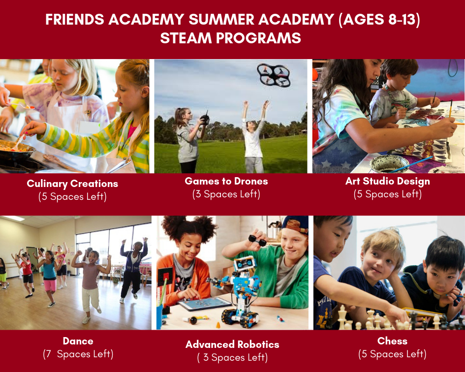 Enroll in FA Summer Camp – Spaces in Sports and STEAM are Filling Up!