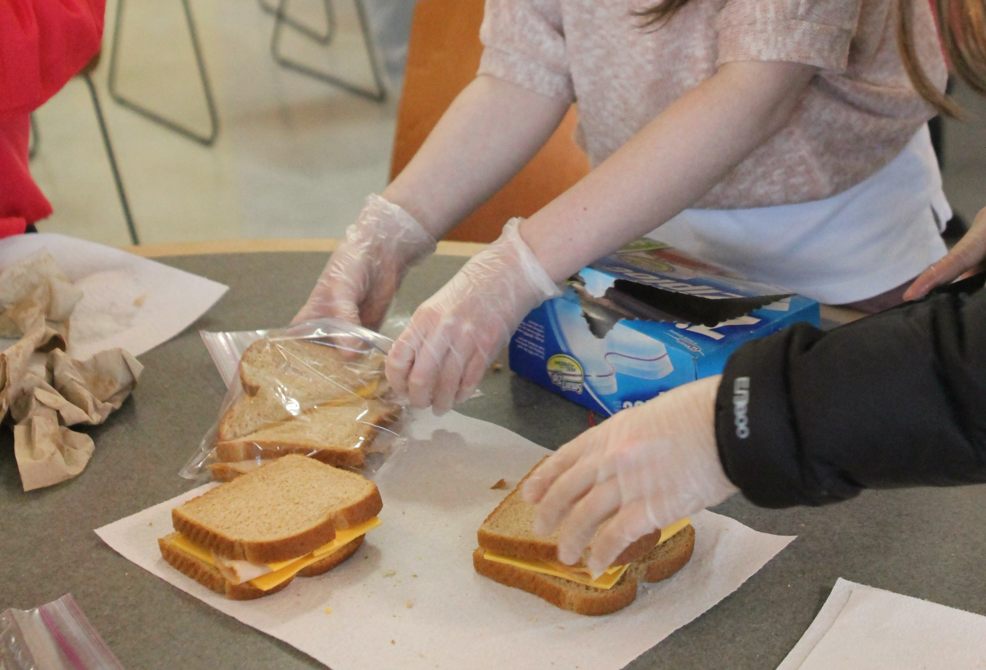 Saturday, May. 4th – Family Community Sandwich Making Service Event